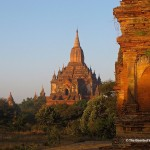 Bagan&#039;s temples, pagodas and stupas are mostly linked by dirty roads and footpaths. (Will Jackson)