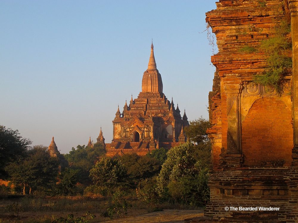 Bagan's temples, pagodas and stupas are mostly linked by dirty roads and footpaths. (Will Jackson)