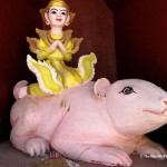 Another nat riding a pink rat. (Will Jackson)