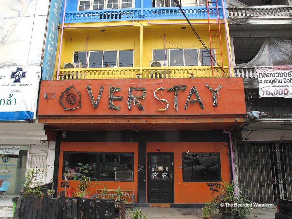 The Overstay Hostel in Bangkok. (Will Jackson)