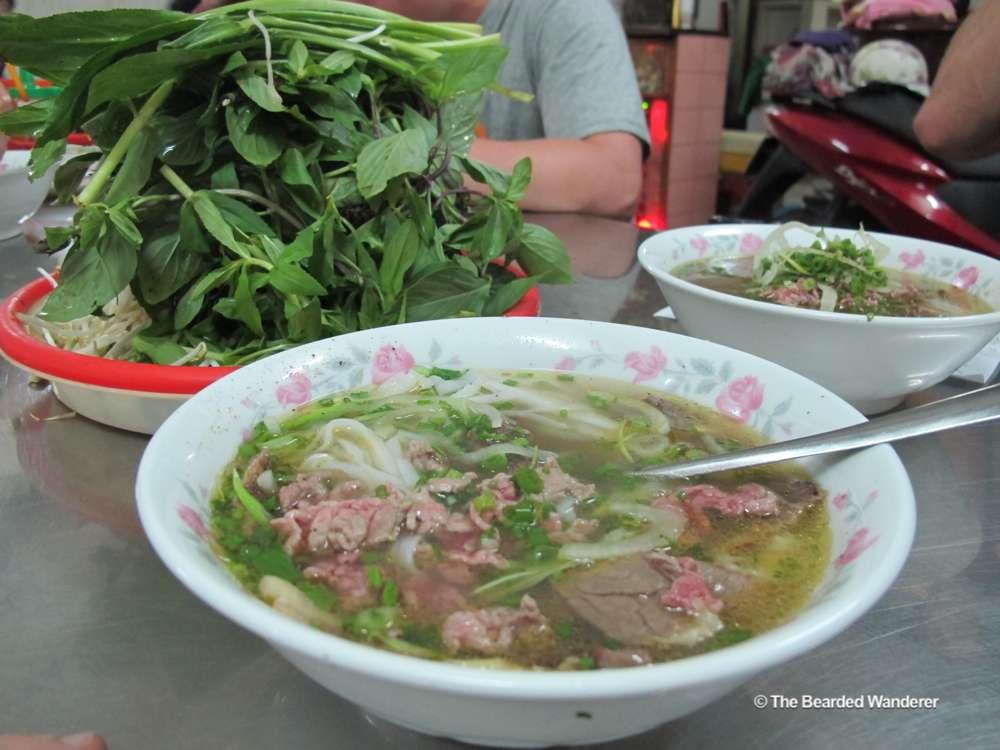 Pho bo from Pho Le in Saigon. (Will Jackson)