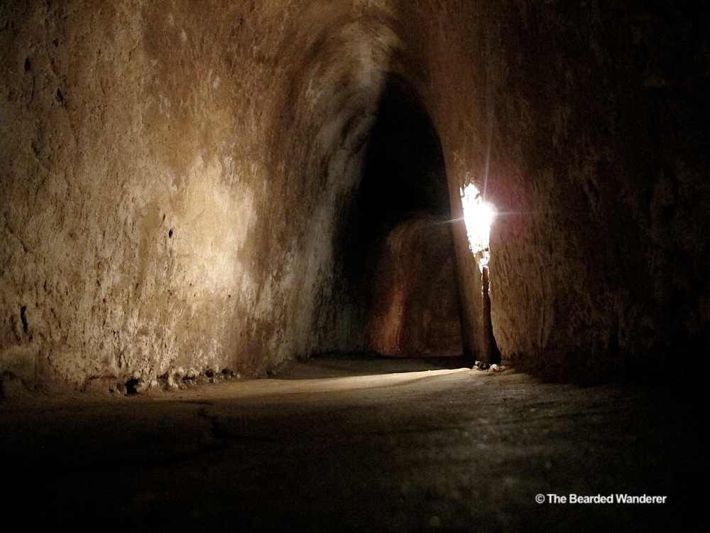 One of the tunnels at the Cu Chi memorial (WIll Jackson)